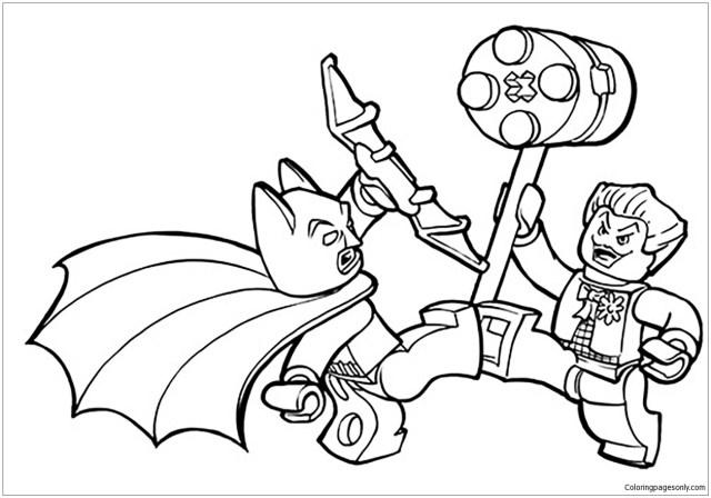 Lego Batman Coloring Pages - Batman Coloring Pages - Coloring