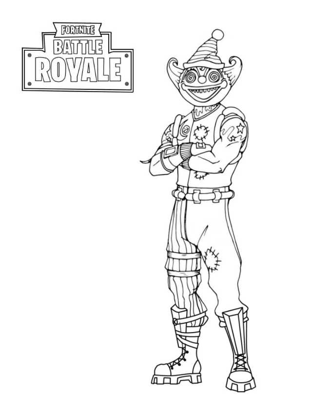 Creepier Nite Nite from Fortnite Coloring Pages - Fortnite
