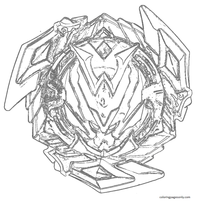 Beyblade Coloring Pages - Coloring Pages For Kids And Adults