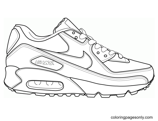 Shoe Coloring Pages - Coloring Pages For Kids And Adults