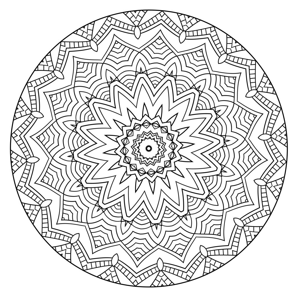 Coloring to Calm, Volume One – Mandalas | free coloring pages mandalas