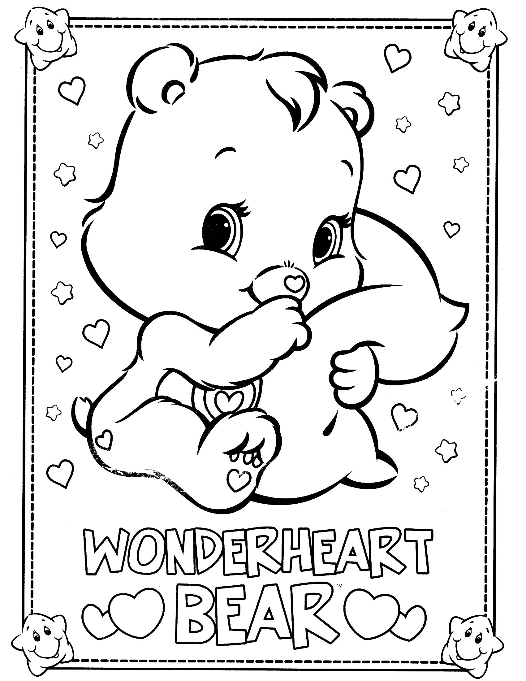 Bears Coloring Pages