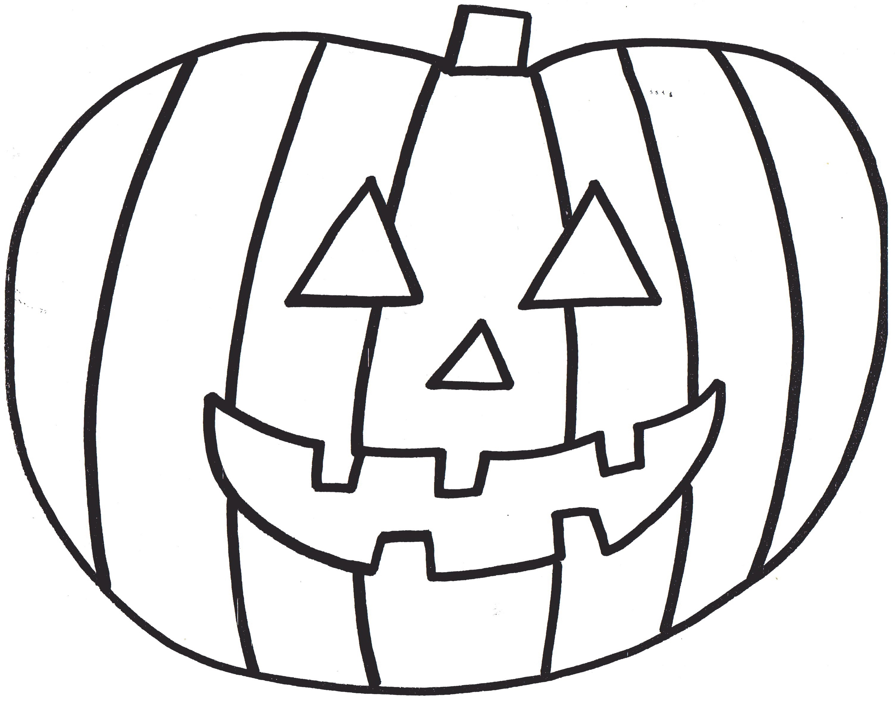 Pumpkin Coloring Pages To Download And Print For Free