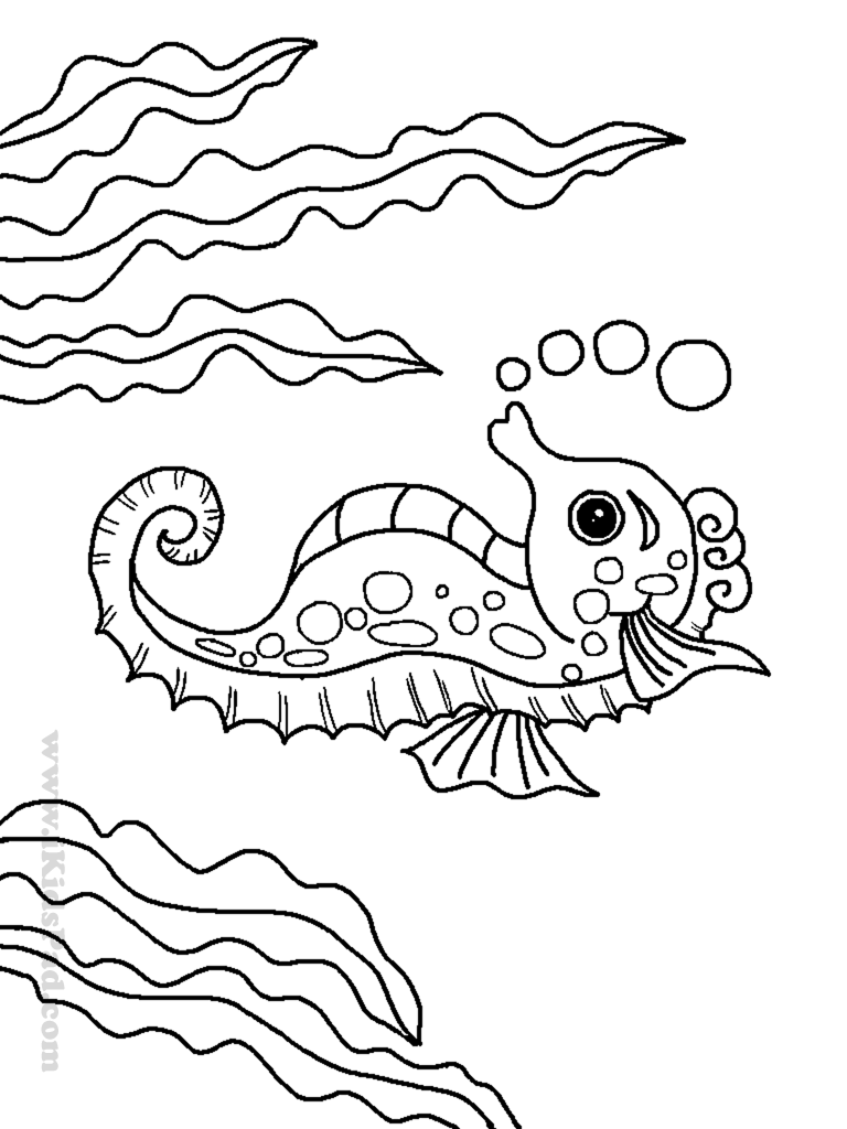 Sea animal coloring pages to download and print for free | coloring pages for sea animals