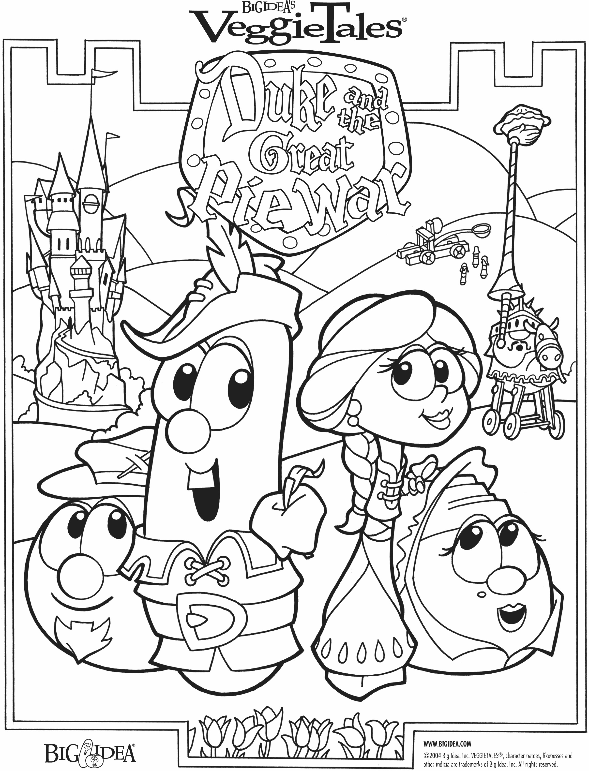 Larry Boy Coloring Pages Download And Print For Free