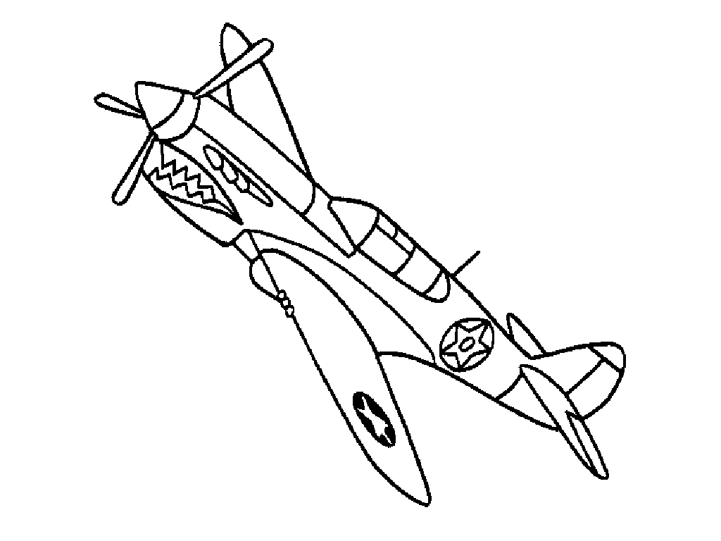 Airplane Coloring Pages To Download And Print For Free