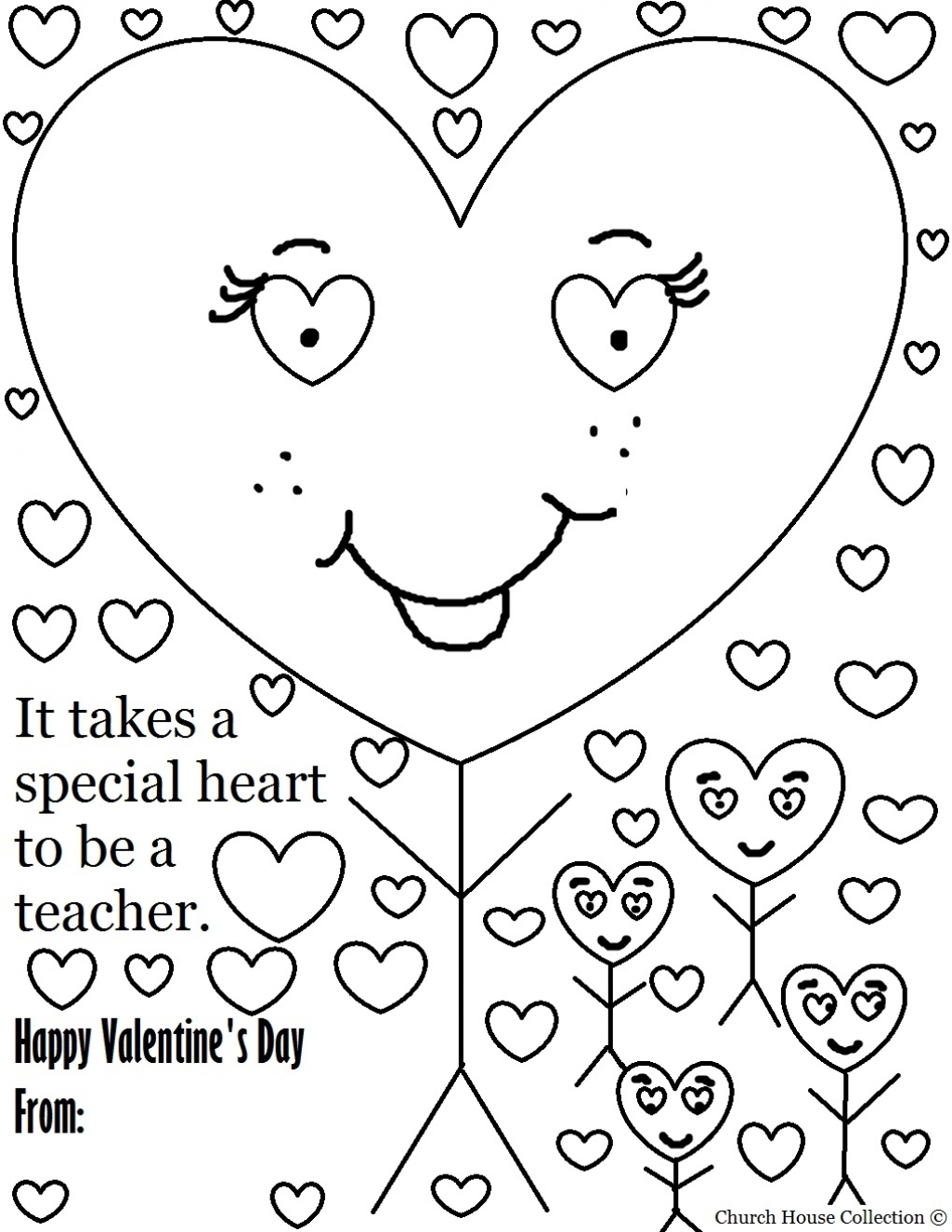 Teacher Appreciation Coloring Pages To Download And Print