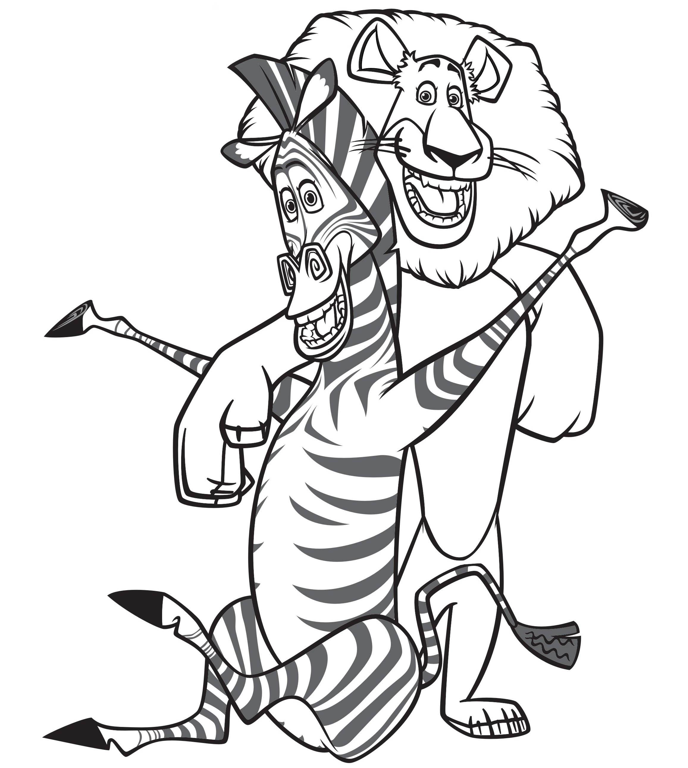 Cartoon Characters Coloring Pages To Download And Print