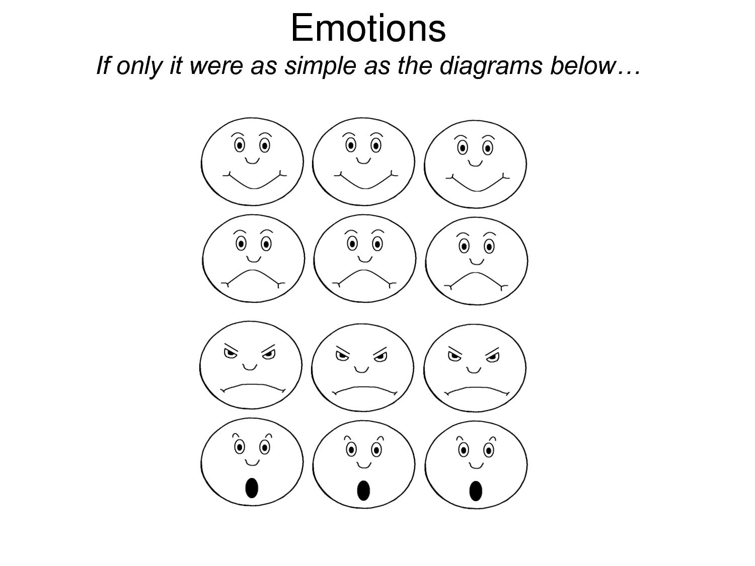Emotions And Feelings Coloring Pages Download And Print For Free