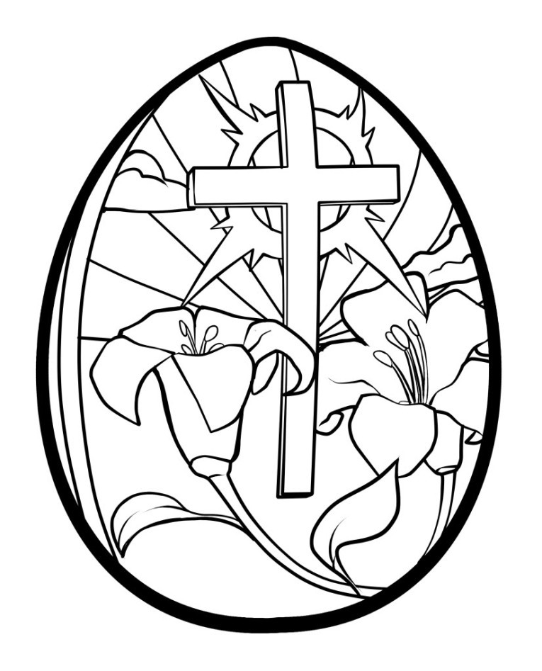 Religious easter coloring pages to download and print for free | free printable religious coloring pages for easter