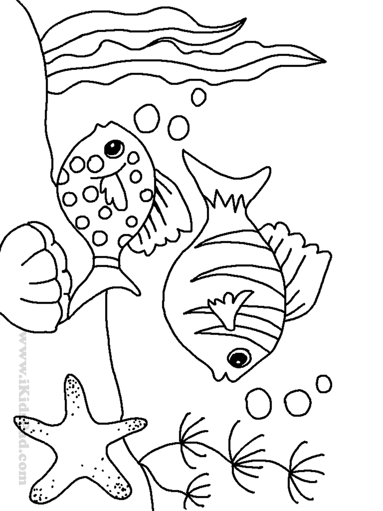 Sea coloring pages to download and print for free | free printable colouring pages of sea animals