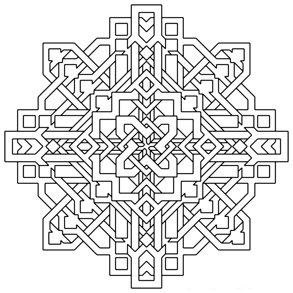 Printable Illusions Coloring Pages - Coloring Home | 1024x1024