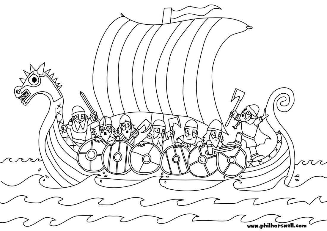 Viking Coloring Pages To Download And Print For Free