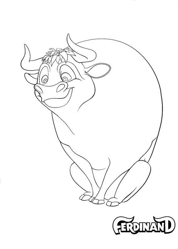 Ferdinand Coloring Pages To Download And Print For Free