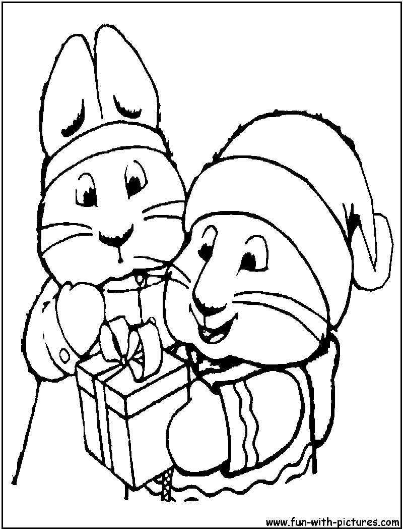 Max Ruby Coloring Pages Download And Print For Free