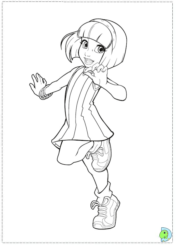 Lazy Town Coloring Pages To Download And Print For Free