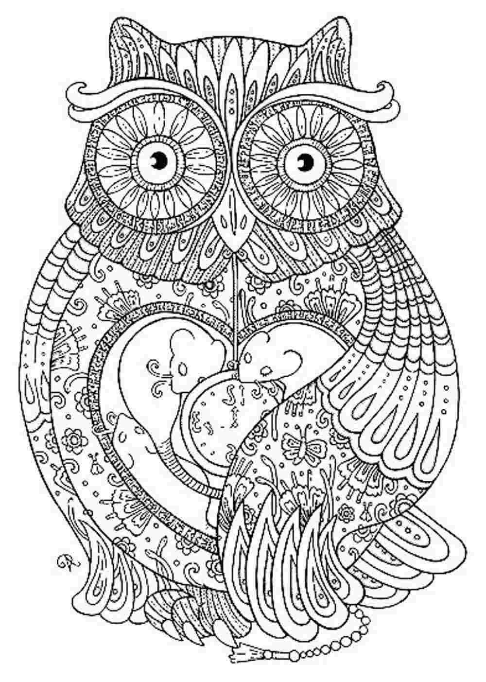 Animal mandala coloring pages to download and print for free | mandala art coloring pages animals