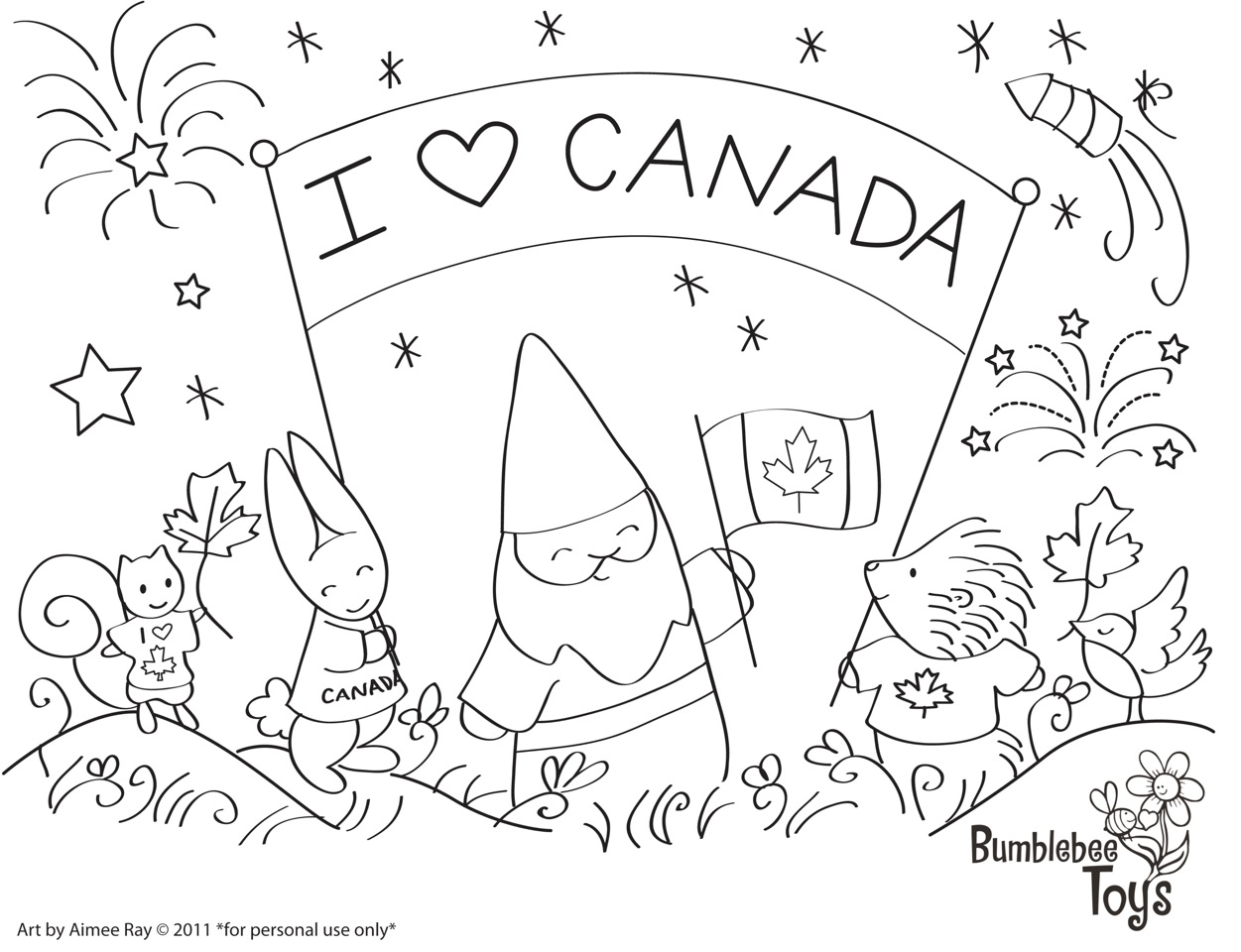 Canada Coloring Pages To Download And Print For Free
