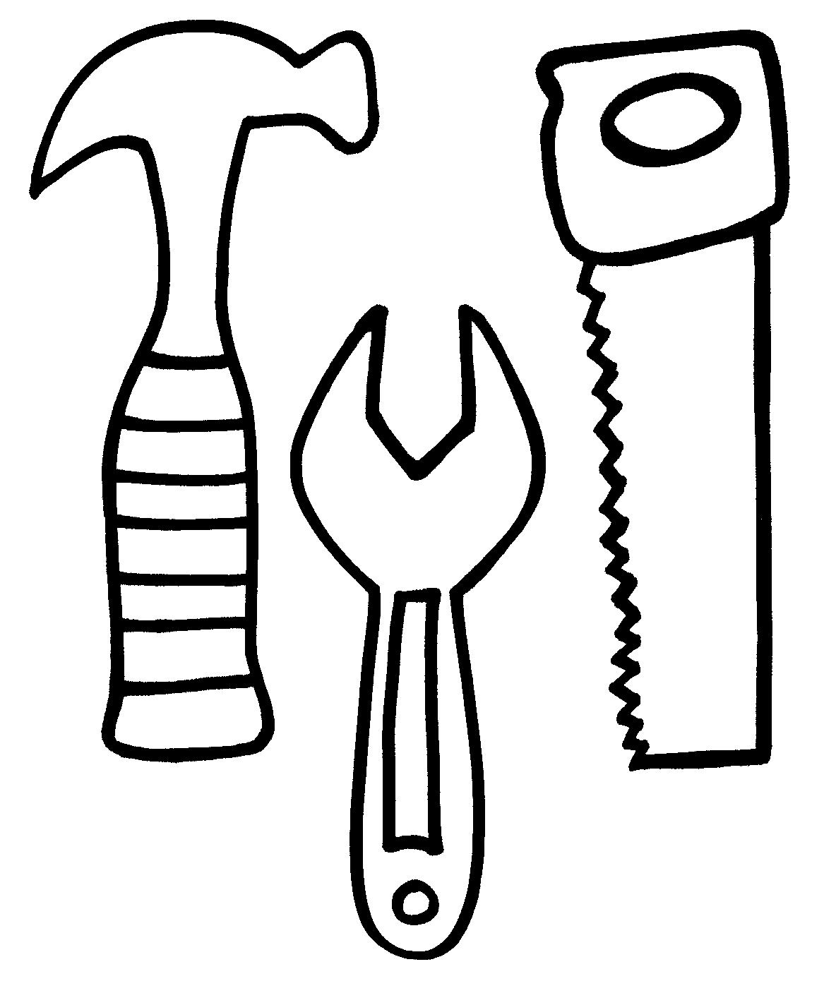 Tool Coloring Pages To Download And Print For Free