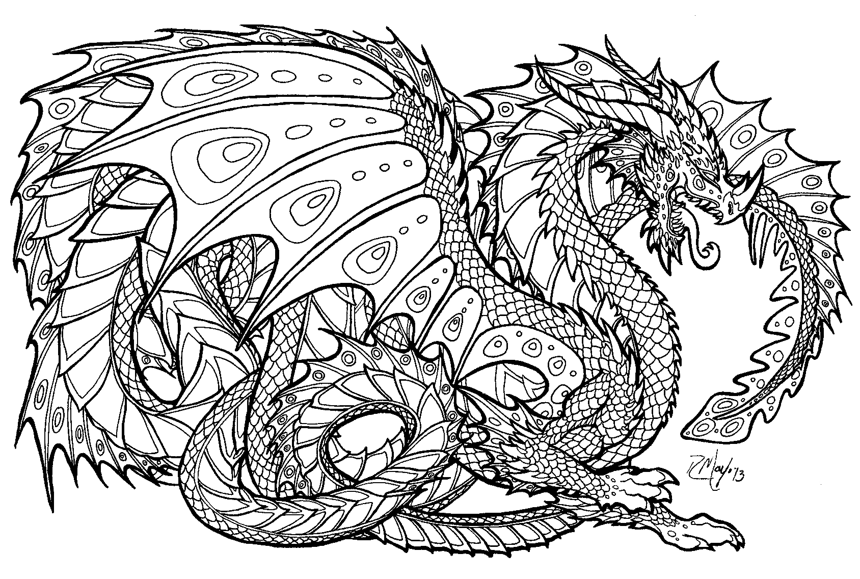 Free Intricate Coloring Pages Free Coloring Pages Download | Xsibe ...