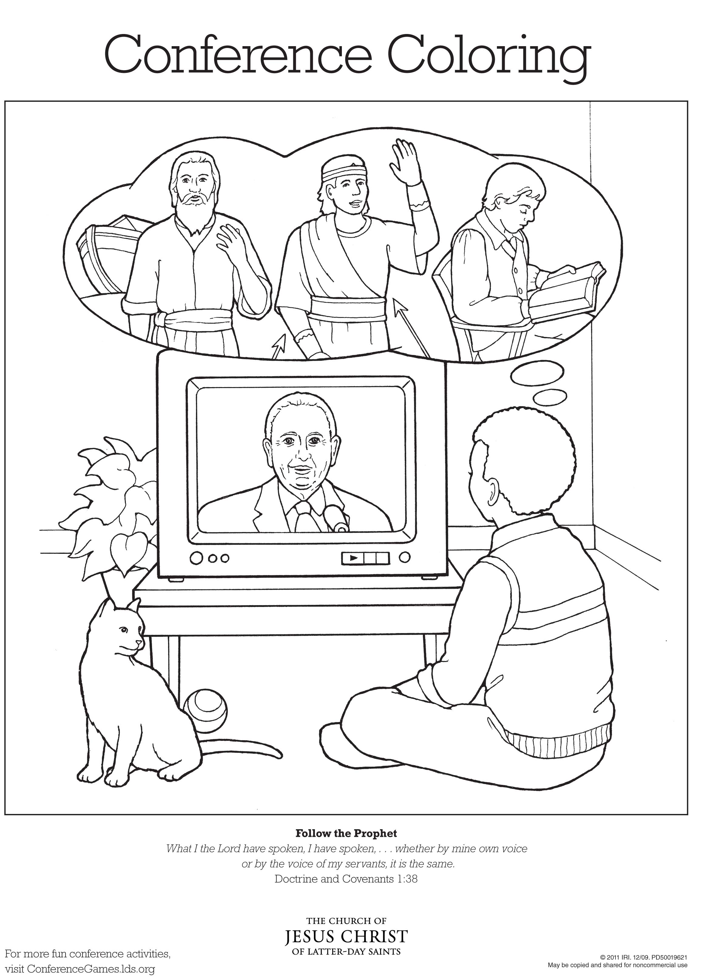 Prophet Mormon Coloring Pages Download And Print For Free