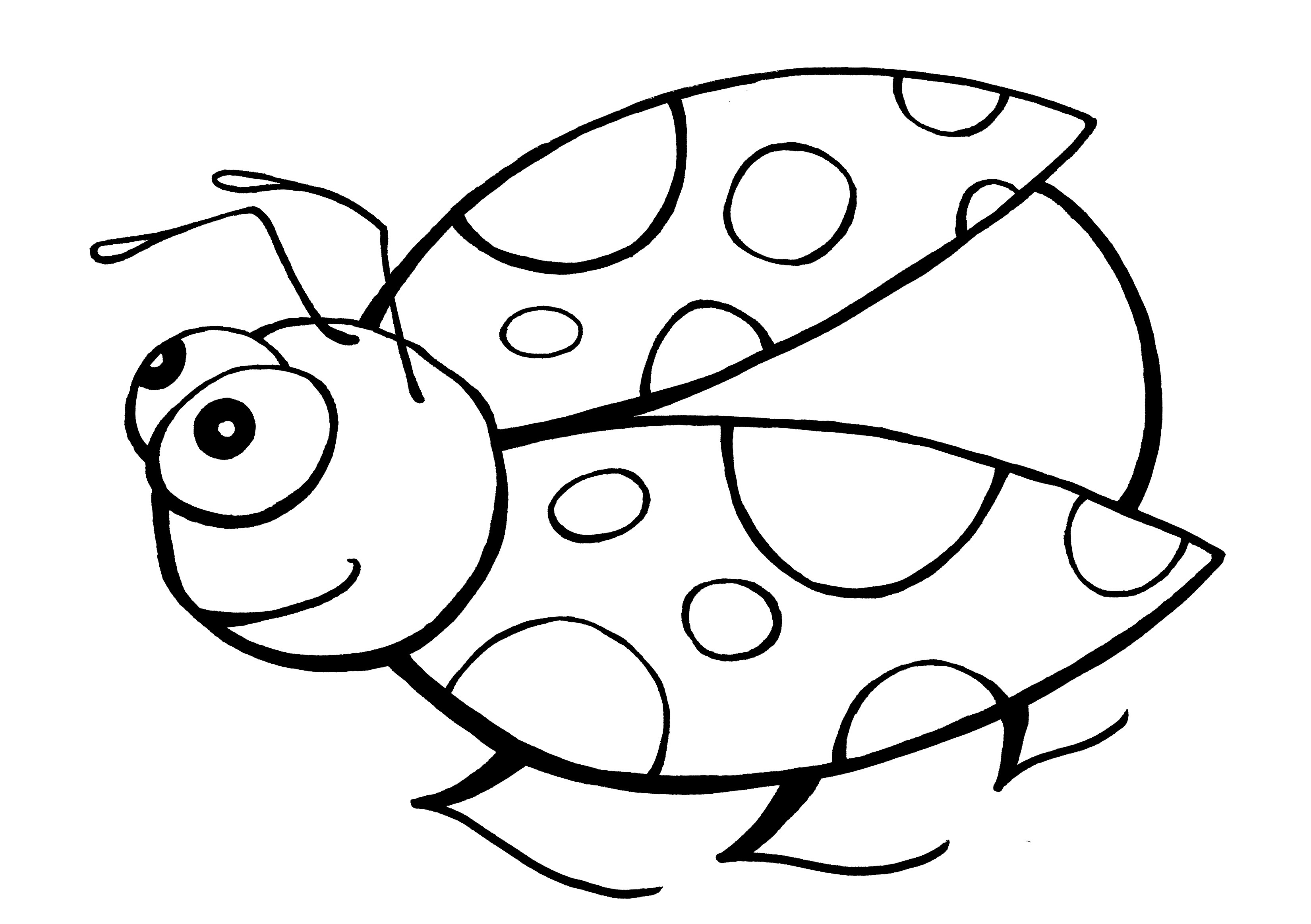 Ladybug Coloring Pages To Download And Print For Free
