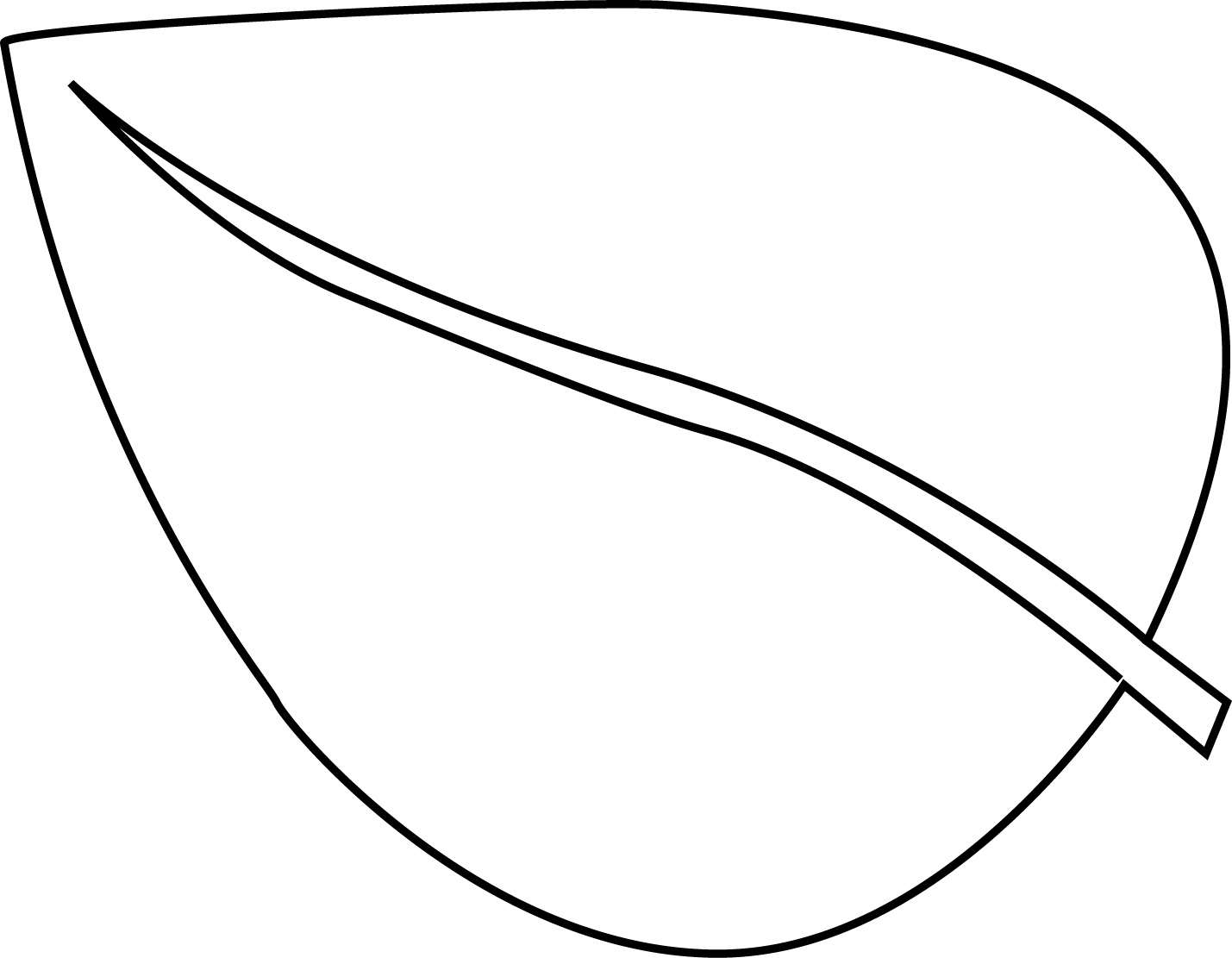 Flower Leaves Coloring Pages Download And Print For Free