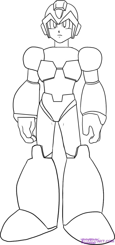 Dibujos para pintar de megaman other popular clip arts. Mega man coloring pages to download and print for free