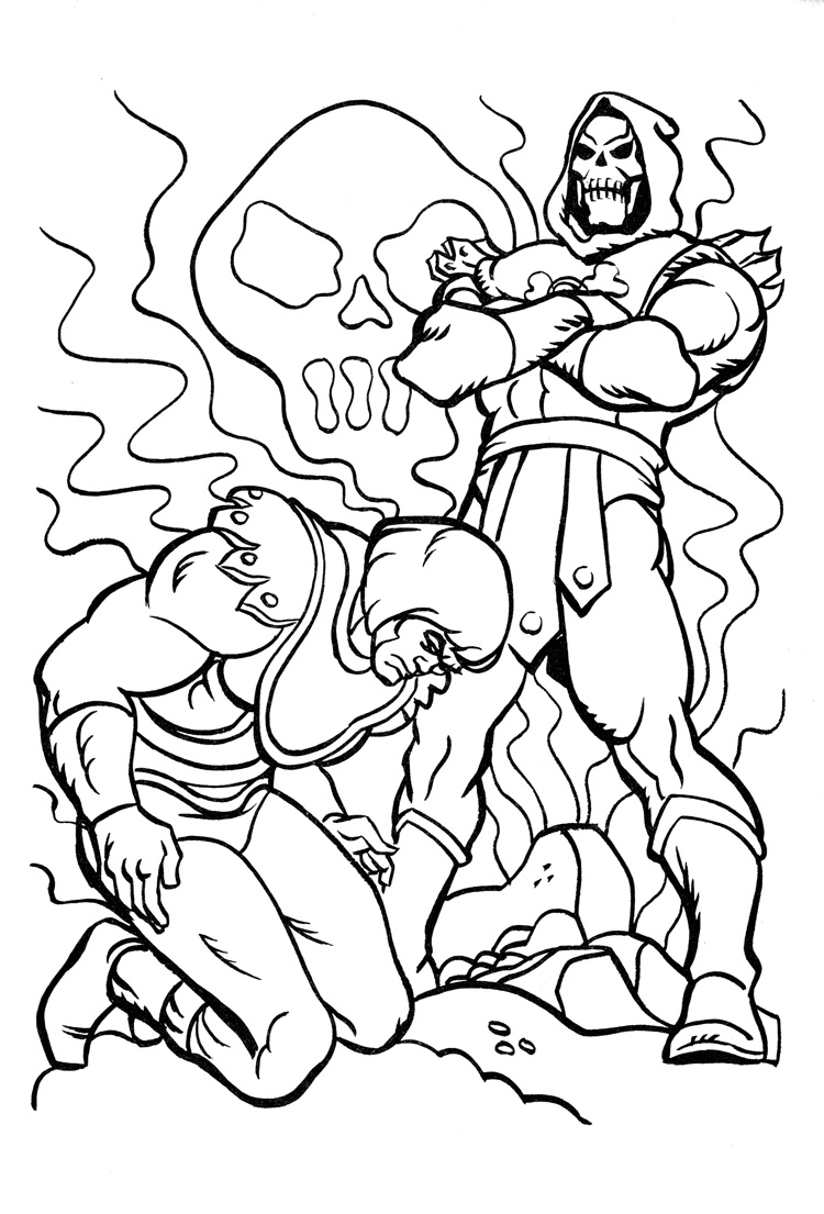 He Man Coloring Pages To Print he man coloring pages ...