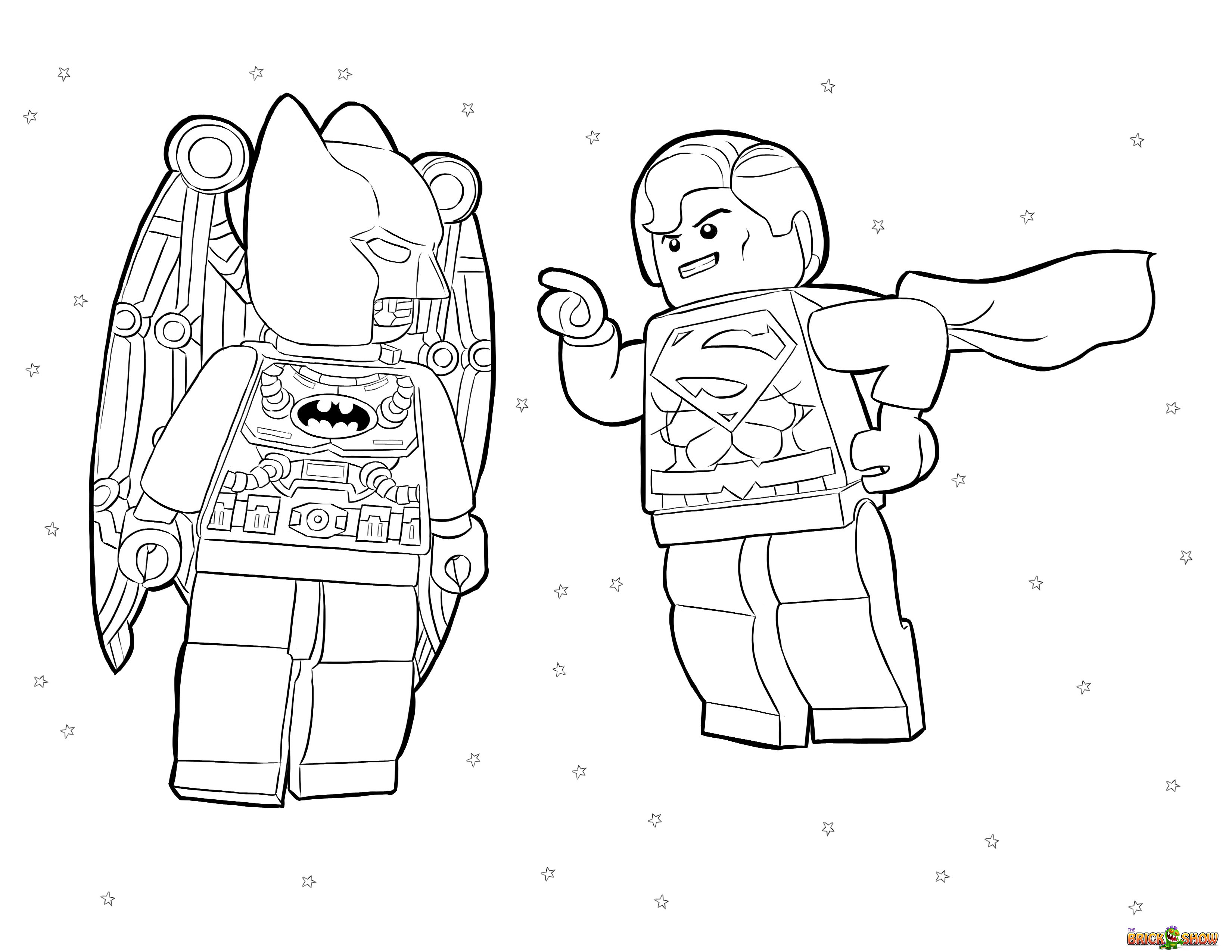 Dc Superhero Coloring Pages Download And Print For Free