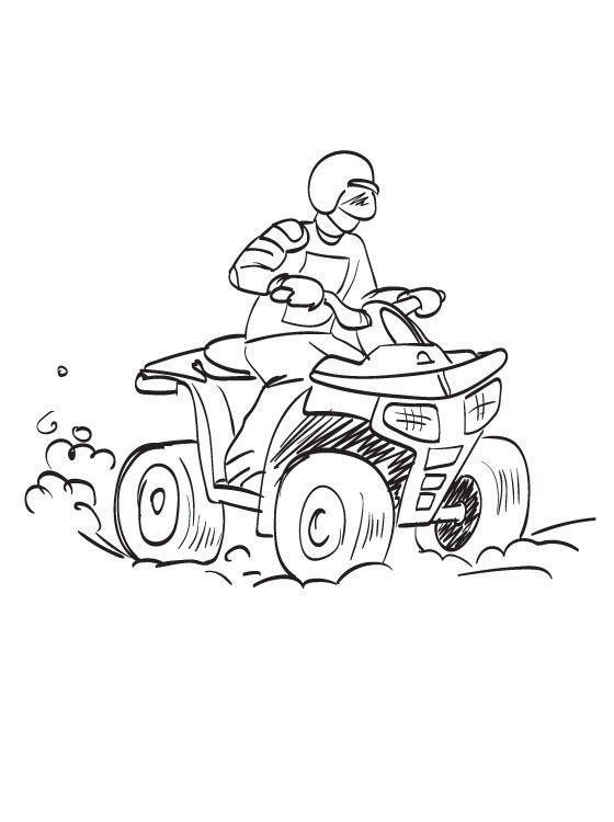 ATV Coloring Pages To Download And Print For Free