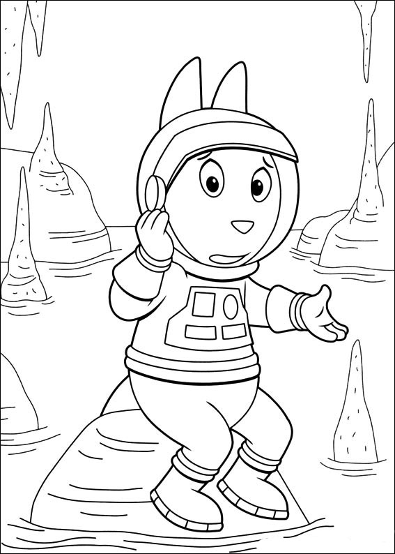 Backyardigans Coloring Pages To Download And Print For Free