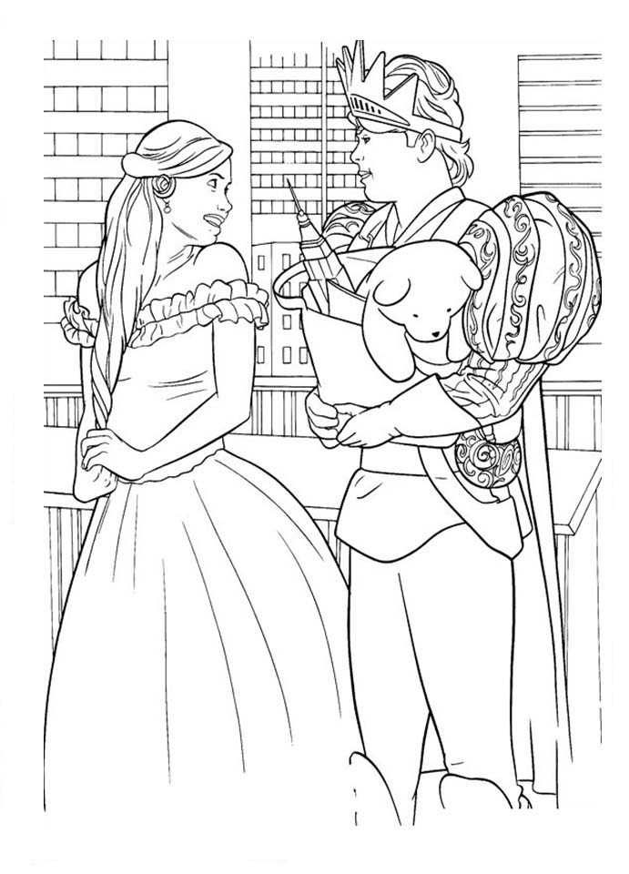Enchanted Coloring Pages To Download And Print For Free