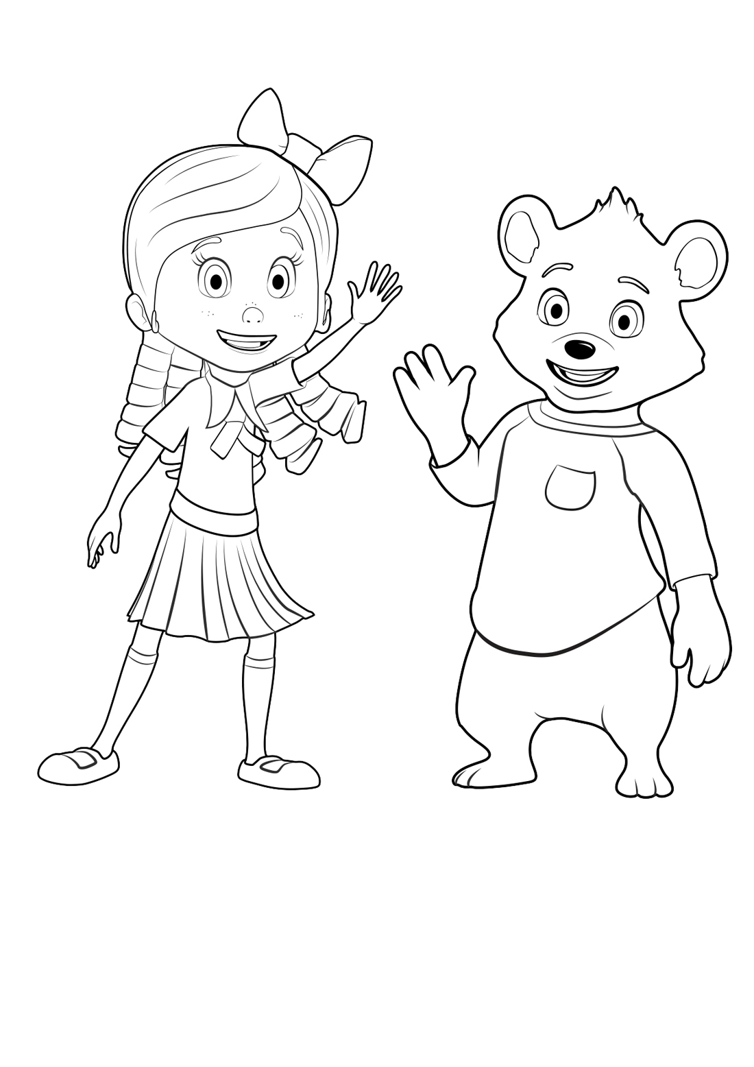 6/8/2019· colorear ladybug y cat noir. Goldie and Bear coloring pages to download and print for free