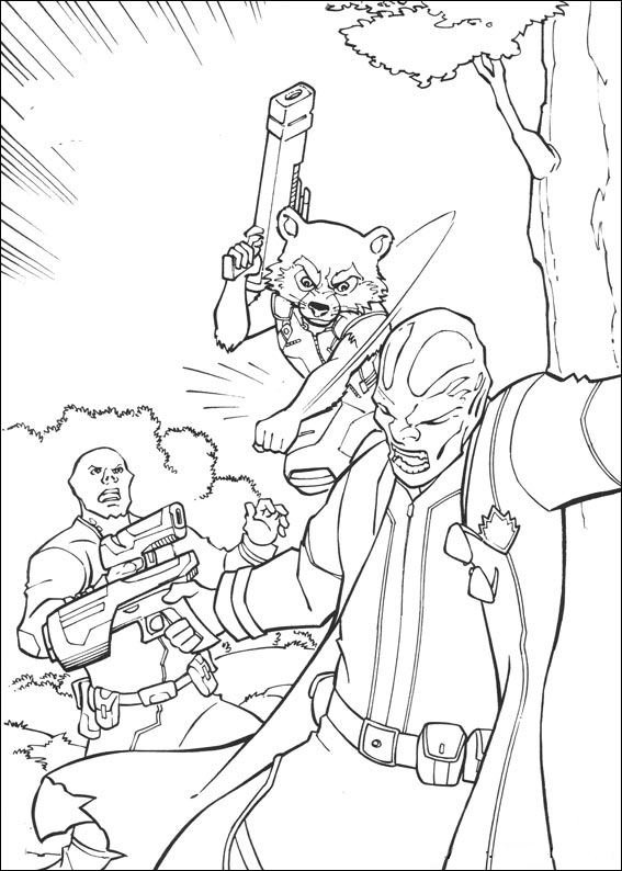 Guardians galaxy coloring pages download and, minnie mouse coloring pages