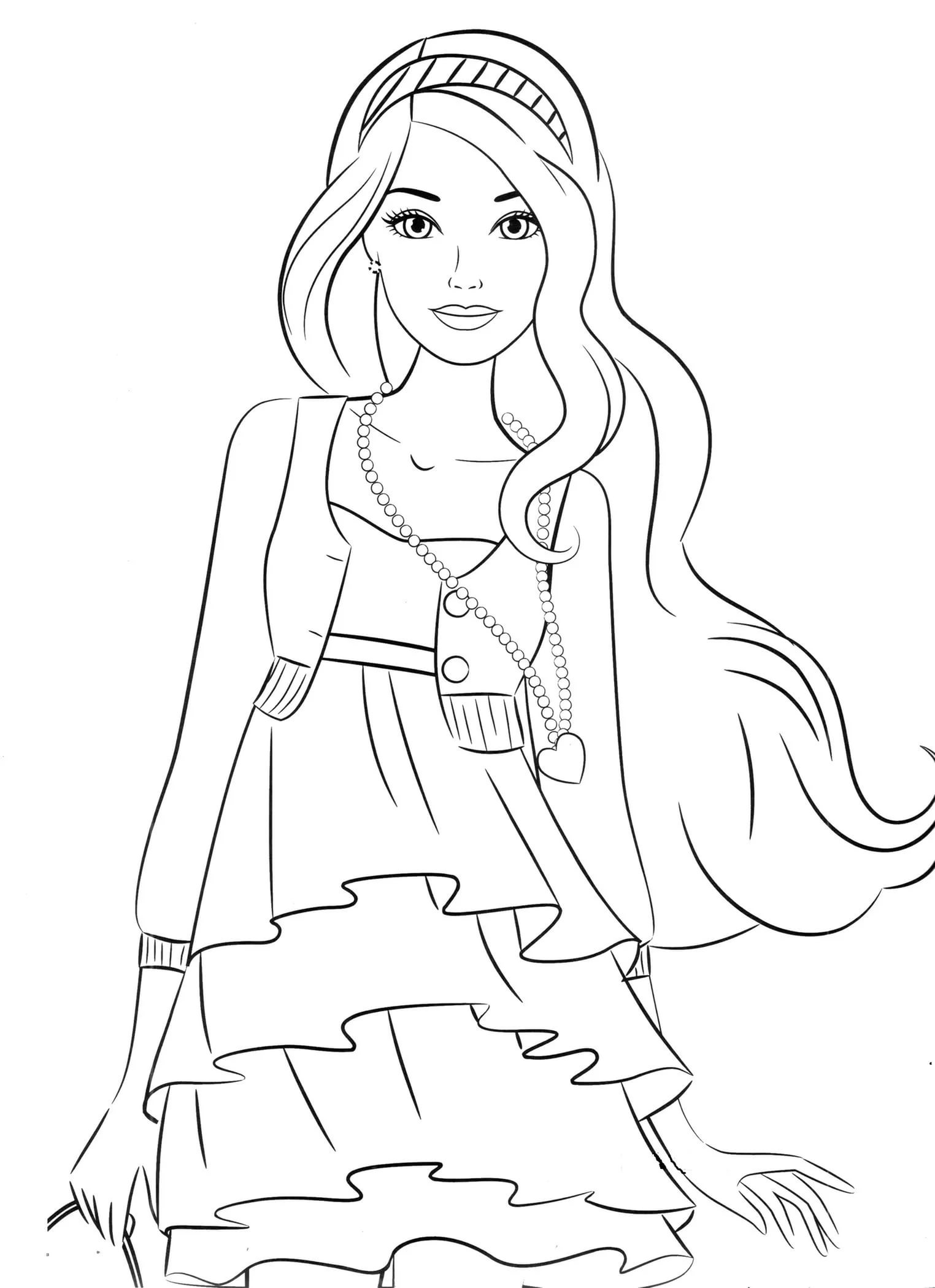 Coloring Pages For 8 9 10 Year Old Girls To Download And