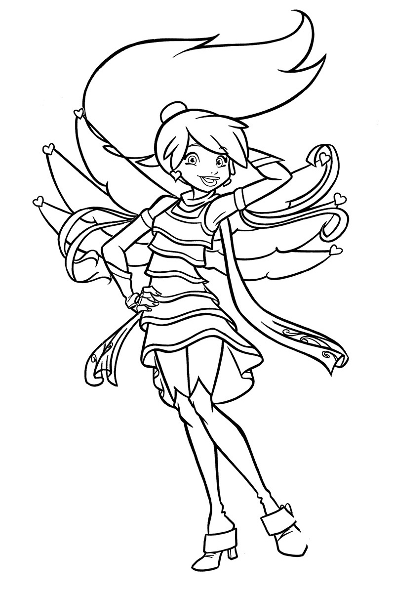 Angels Friends Coloring Pages To Download And Print For Free