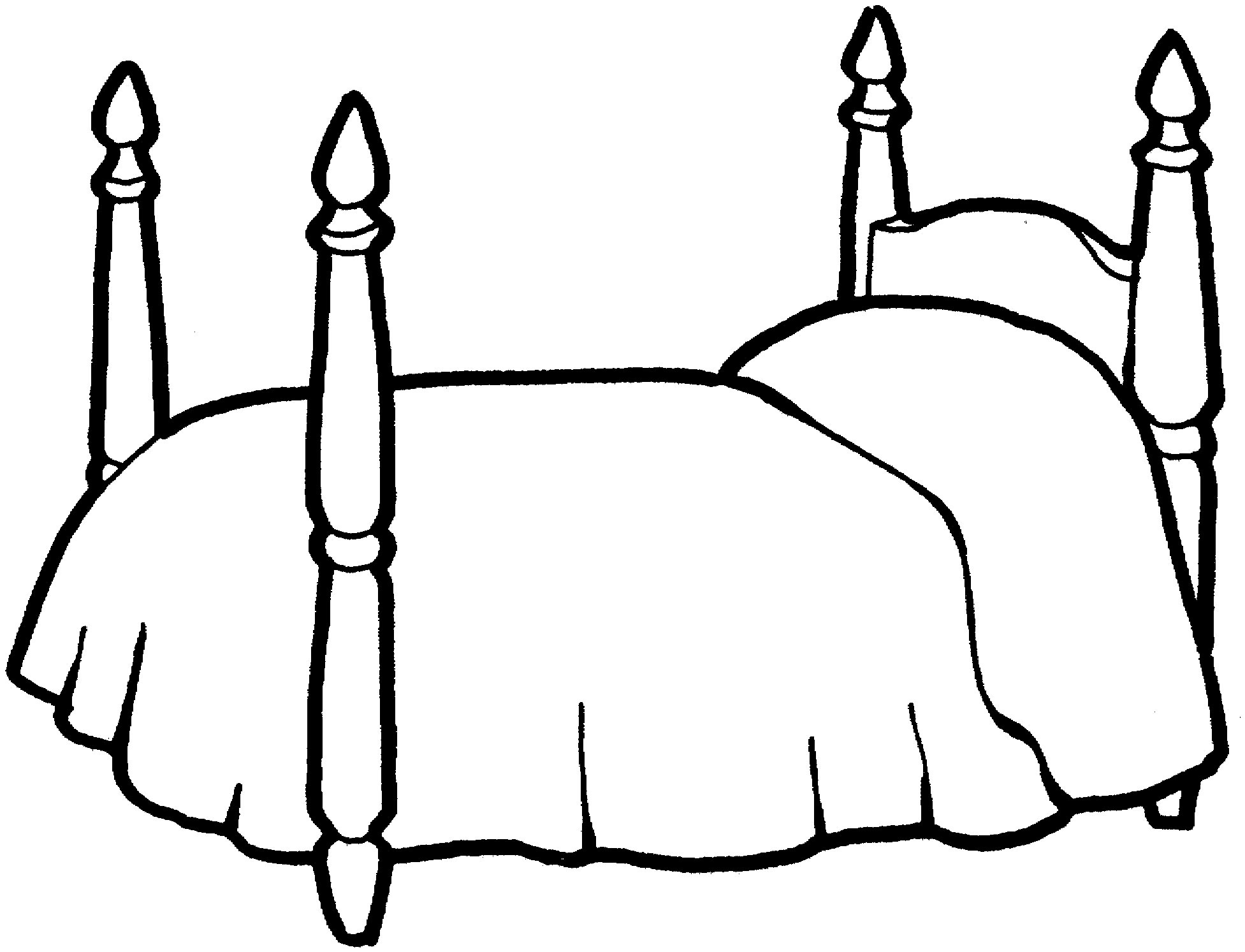 Furniture Coloring Page For Kids To Print And Download For Free