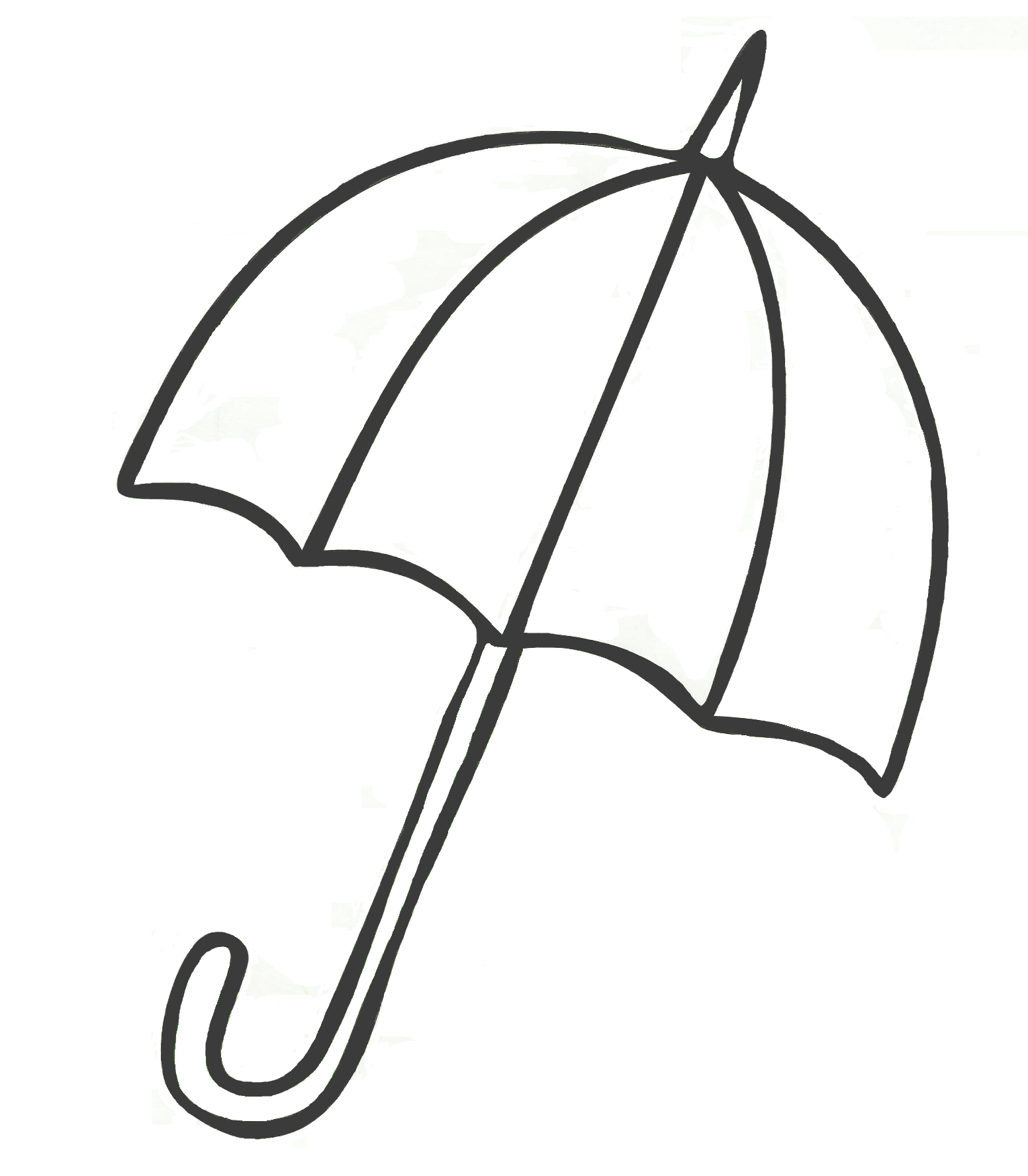 Umbrella Coloring Pages For Childrens Printable For Free