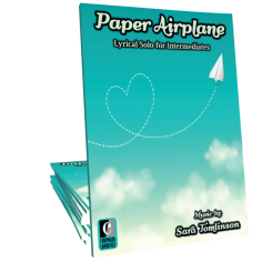 paper airplane cover