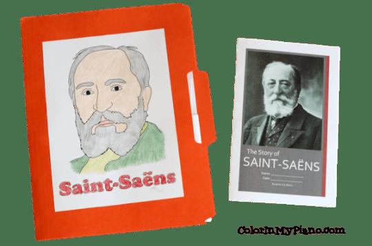 Saint-Saens lapbook