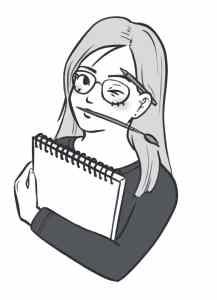 illustration : prenez contact. illustratrice bien-être