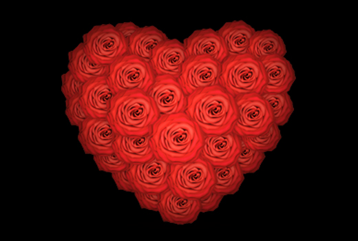 25 Beautiful Hearts And Roses Pictures ColorLava