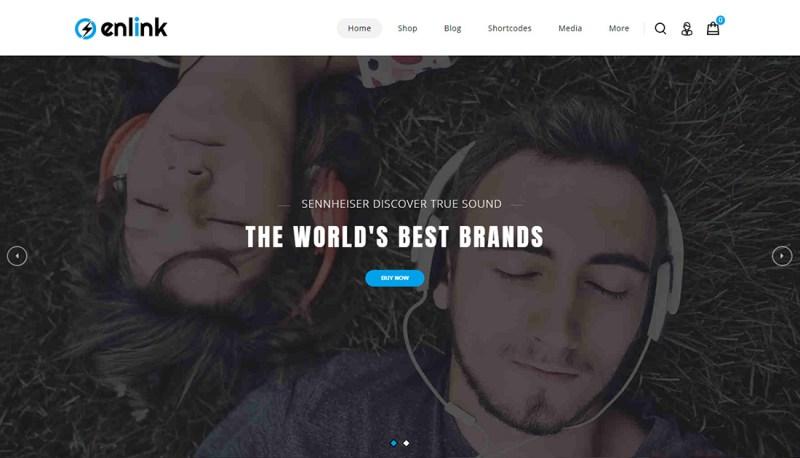 Enlink - Tema de WordPress para un solo producto