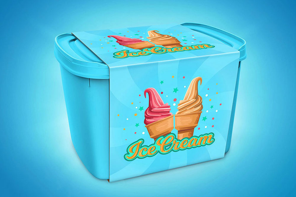 Control + u to change your desired background color. 38 Best Ice Cream Mockups For Ice Cream Business 2019 Colorlib
