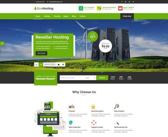28 Best HTML Web Hosting Website Templates 2020 - Colorlib