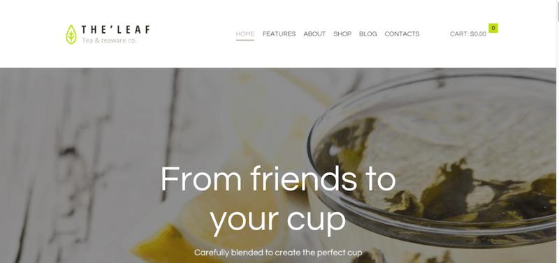 TheLeaf - Tea Company - Tea teaware co.