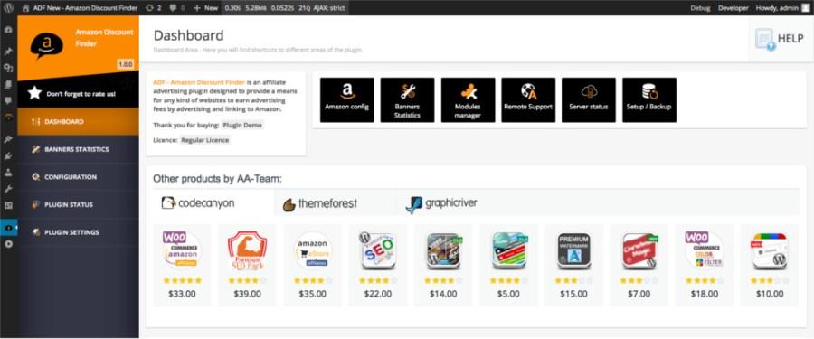 WooZone - Amazon Affiliates Bundle Pack