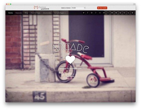 Arcade Lite - Bootstrap -theme