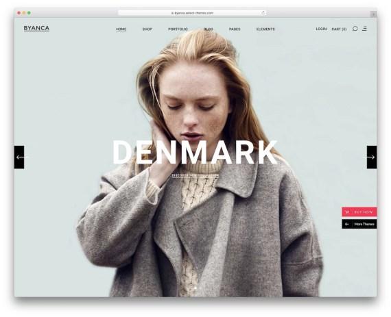 Byanca  WordPress eCommerce theme